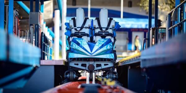 SeaWorld Orlando - Ice Breaker Roller Coaster - preview photo