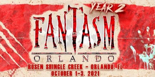 Horror convention Fantasm Orlando