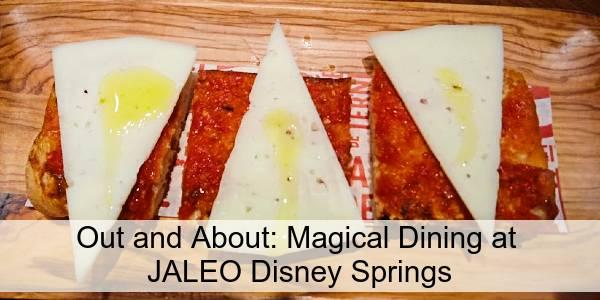 Magical Dining at JALEO at Disney Springs