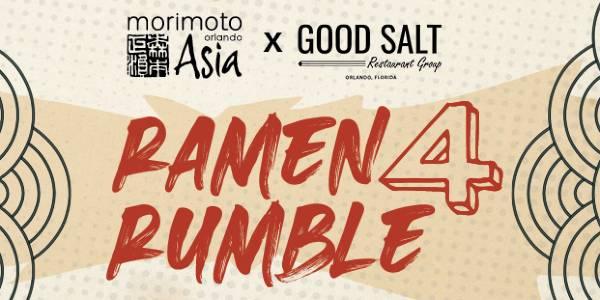 Ramen Rumble 4 Comes to Morimoto Asia