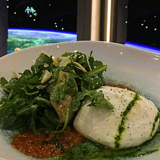 Space 220 opening at Epcot - burrata