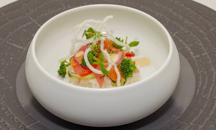 Walt Disney World Swan and Dolphin Food & Wine Classic - Cabana veg bowl