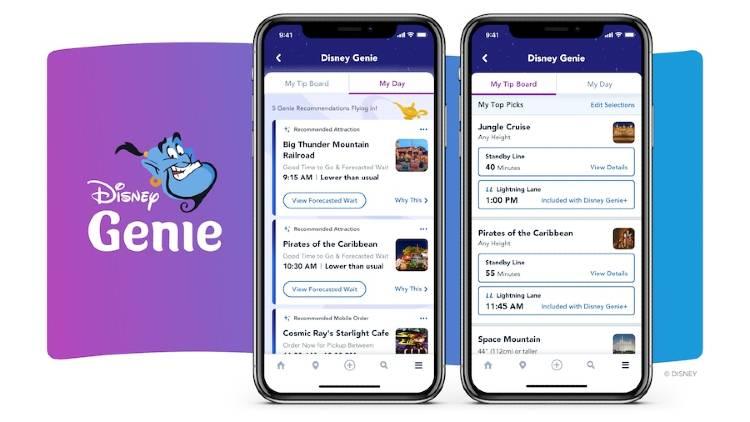 Disney Genie - screencap