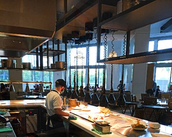 Amatista Cookhouse at Loew's Sapphire Falls Resort - kitchen view