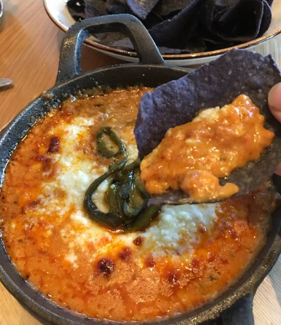 Amatista Cookhouse at Loew's Sapphire Falls Resort - queso