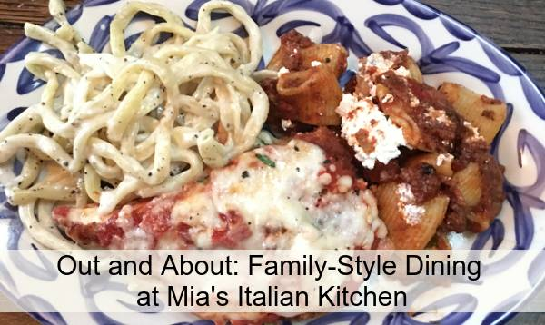 Family-Style Dining at Mia's Italian Kitchen